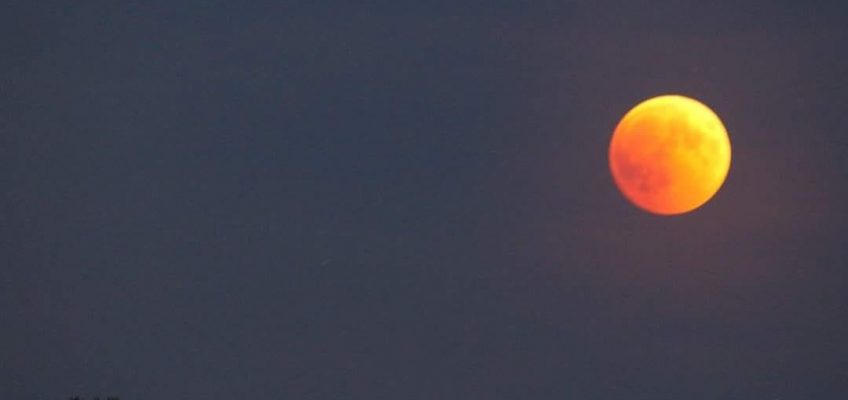 Eclissi di Luna Rossa 27 luglio 2018